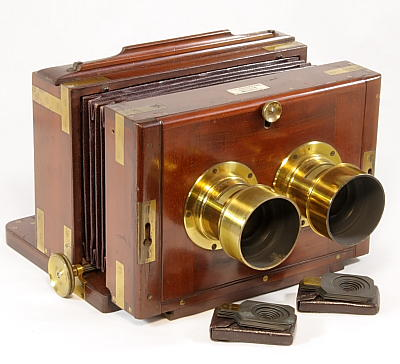 Image of Stereo Wet-plate Camera