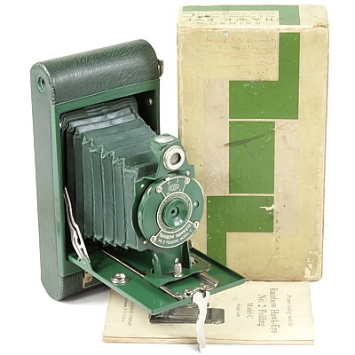 Image of Rainbow Hawk-Eye. No. 2 Folding Model C Green Model
