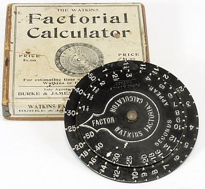 Image of Watkins Factorial Calculator