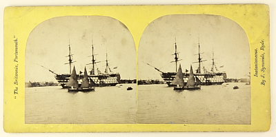 Image of Wooden naval ships