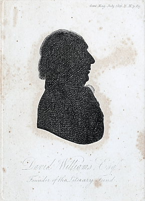 Image of Engraving from a Silhouette