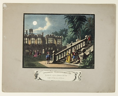Image of Spooner's Transformations - No. 6 'Haddon Hall Derbyshire'