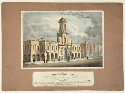 Image of Morgan's Improved Protean Scenery - No. 6 'The Royal Exchange London'